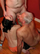 European swingers like to fuck in the craziest ways
