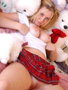 19 yo alison angel multi-toy penetration