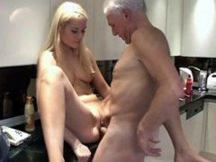 Shaved small titted honey 6