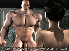 Huge muscular hung fucks pretty asian babe into mouth