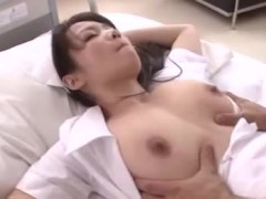 Cute innocent looking asian show off her bead thong before her pussy and butthole