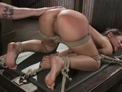 man tied up cum