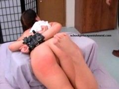 Collared enslaved young stunner loves her pussy being drilled rough.
