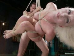 Young and horny slut gets totlly disgraced