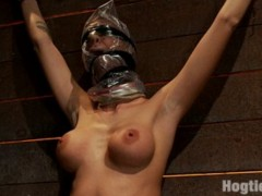 Spoiled bitch gets roped and fucked very hard