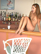 Smal tits blone teen walkin all nude in the streets ans shooting with passerbys.