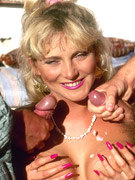 Dirty and raunchy eighties double penetration pleasures