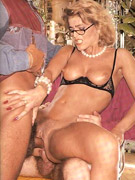 Hairy seventies lady whoreships her favorite erected cock
