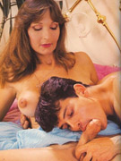 Vintage hairy blonde girls showing off their pretty bodies