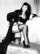 Horny seventies lady fucks cocks